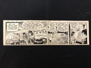 Ella Cinders Original Newspaper Comic Art July 30 1949-Charlie Plumb & Fred Fox