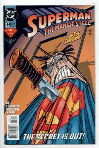 Superman The Man of Steel #44 (DC, 1995) VF/NM