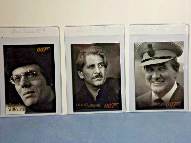 2006 James Bond 007 Trading Cards 11 SP Inserts Heroes & Allies Miss Caruso +++