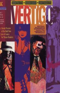 Vertigo Preview #1 VF/NM; DC/Vertigo   save on shipping - details inside