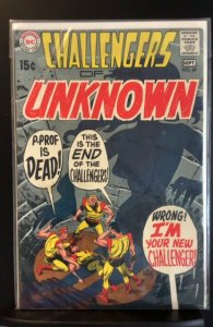 Challengers of the Unknown #69 (1969)