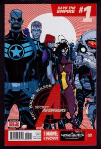 Secret Avengers #1 (2014 Series)   9.4 NM