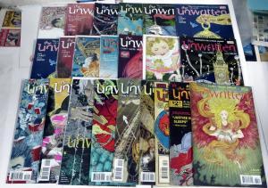 The Unwritten (Vertigo 2009) #1-9,11-16,18,21,27,28,29,34.5!20 books of quality!