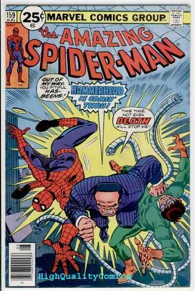 SPIDER-MAN #159, FN, Doctor Octopus,Andru,Amazing, 1963, more ASM in store