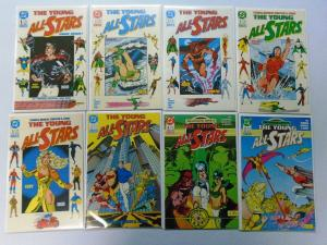 Young All-Stars, From:#1-31 + Annual 23 Different, 8.0/VF (1987-1989)