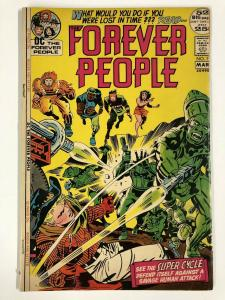 FOREVER PEOPLE 7 G-VG Mar. 1972 COMICS BOOK
