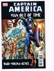 Captain America Man Out Of Time # 1 Marvel Comic Books Hi-Res Scans WOW!!!!! S10