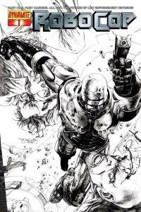 Robocop #1 (2010) Sketch Variant Dynamite Comics Near Mint.