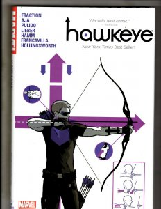 Hawkeye Vol. # 1 Marvel Comics HARDCOVER Graphic Novel Book Fraction AJA HR8