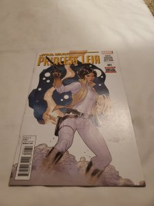 Star Wars Princess Leia 1 Near Mint Cover by Terry Dodson
