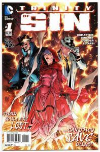 Trinity of Sin #1 Cvr A (DC, 2014) NM-