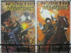 TWO GUN KID SUNSET RIDERS (1995) 1-2 complete story!