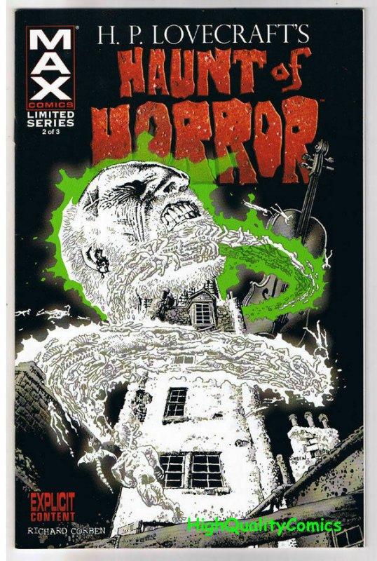 HAUNT of HORROR #2, NM+, Richard Corben, Lovecraft, 2008, more RC in store