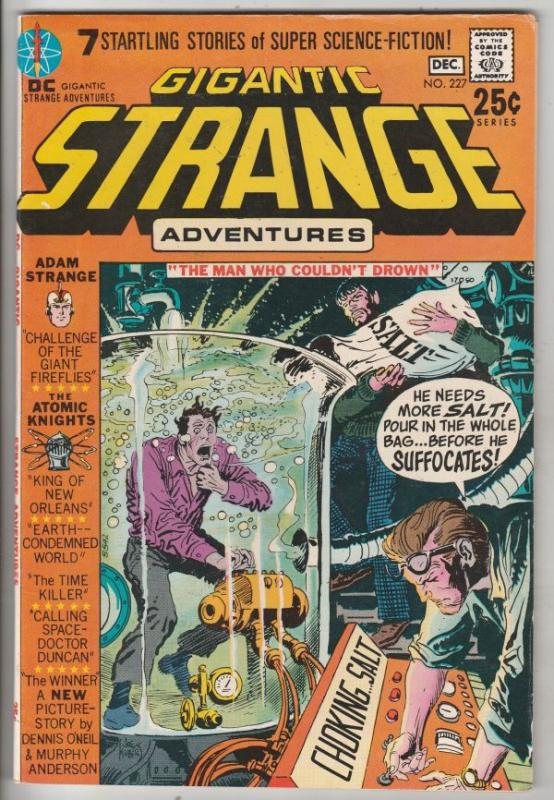 Strange Adventures #227 (Dec-70) VF/NM High-Grade Adam Strange, Alana