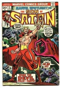Marvel Spotlight #13 comic book Son of Satan 1973 VF-