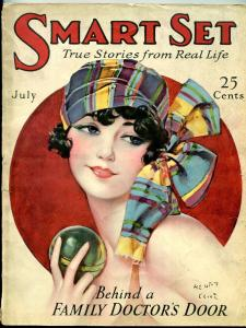 Smart Set Magazine July 1927- Great Gypsy girl cover- Rare G