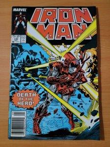 Iron Man #230 Newsstand Edition ~ VERY FINE - NEAR MINT NM ~ 1988 Marvel Comics