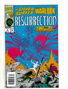 Silver Surfer/Warlock: Resurrection #4 (1993) YY5