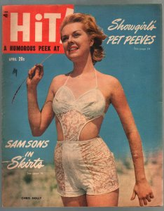 Hit! Annual #1 1944-pin-up girl cover-1st issue-WWII cheesecake pix-Ann Mille...