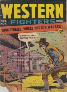 Western Fighters Vol.1 4 Fair     Buffalo bill story by Graham Ingels