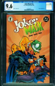 Joker/Mask #1 2000 CGC 9.6 DC comic book 2006680024