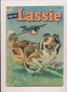 Dell Comics MGM's LASSIE #14 Good- 1954 (B21)