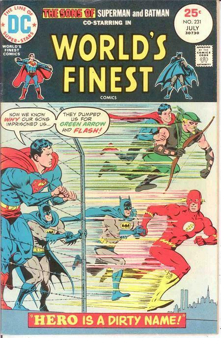 WORLDS FINEST 231 VF-NM  July 1975 COMICS BOOK
