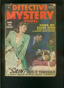 DETECTIVE MYSTERY NOVEL-SPG 1948-TORTURE PULP-RL BELLEM VG