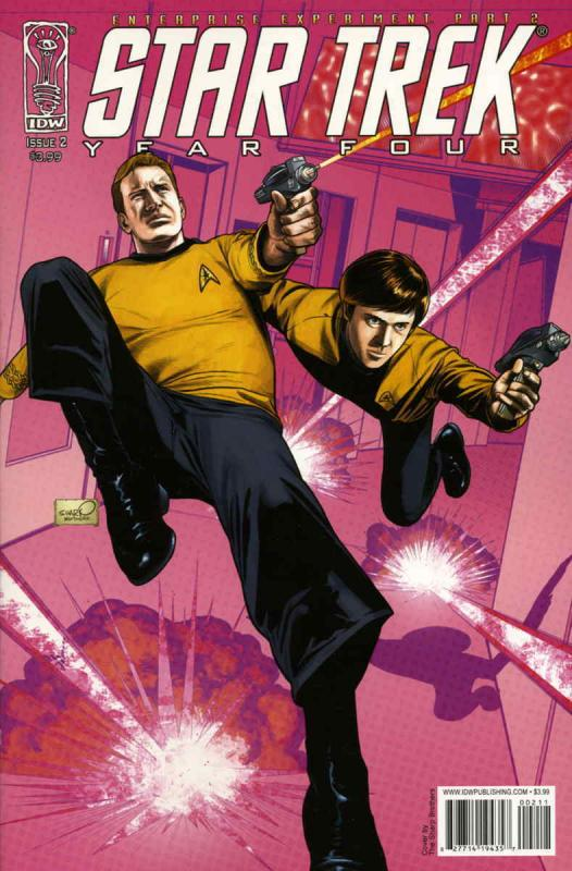 Star Trek Year Four: Enterprise Experiment #2 VF/NM; IDW | save on shipping - de