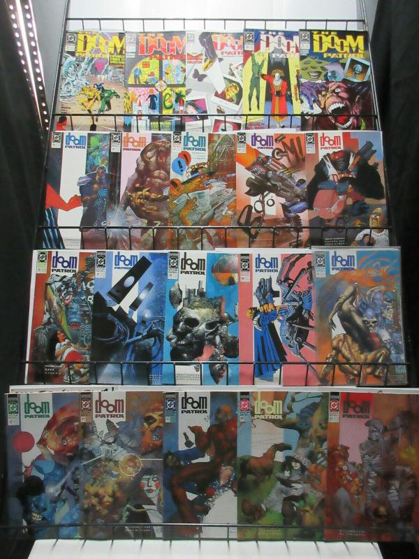 Doom Patrol (DC 1989-2016) Mini-Library of 91Diff! Morrison Pollack Byrne +++