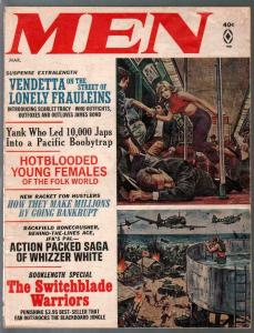 Men 3/1966 3/1966-Nazi's-switchblade warriors-Charles Copeland-VG