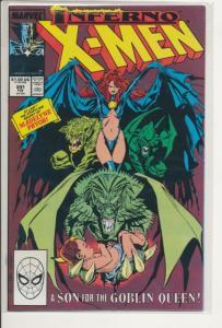 Marvel Inferno X-Men #241 Very Fine (8.0) (769J)