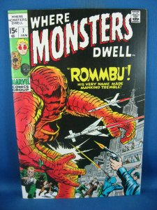 WHERE MONSTERS DWELL 7 NM- 1970
