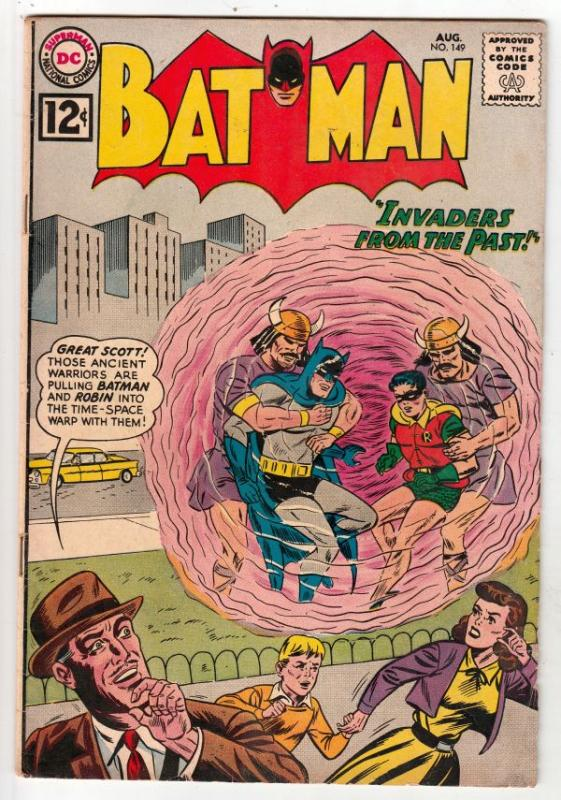 Batman #149 (Aug-62) FN+ Mid-High-Grade Batman