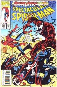 Spider-Man, Peter Parker Spectacular #202 (Jul-93) NM+ Super-High-Grade Spide...