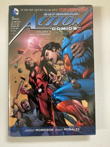 Superman Action Comics #2 DC tear in corner of cello Hardcover (2013) The New 52