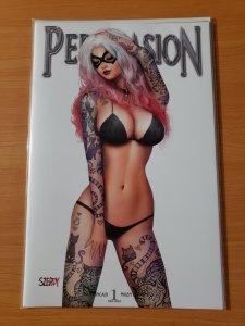 A SUPER SEXXY Black Cat Lingerie Variant Cover Persuasion #1