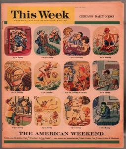 This Week 7/18/1964-John D MacDonald pulp fiction-Touch Of Miss Mint-VF