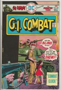 G.I. Combat #182 (Sep-75) VF High-Grade The Haunted Tank