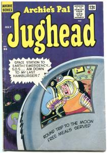 Archie's Pal Jughead #86 1962- 1st appearance of Brain- Sci-fi cover VG-