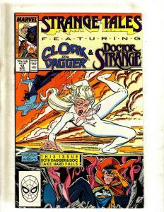 11 Comics Strange Tales 12 14 18 19 Fallen Angels 1 2 3 4 5 6 7 J411