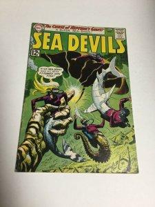 Sea Devils 8 Fn- Fine- 5.5 DC Comics Silver Age