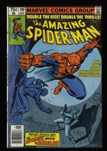 Amazing Spider-Man #200 VF 8.0 White Pages