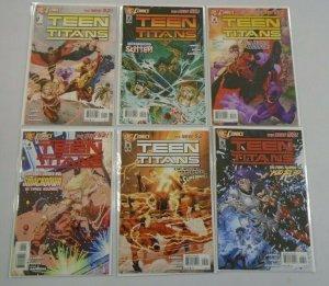 Teen Titans 4th series NEW 52 run:#1-12 8.0 VF (2011-12)
