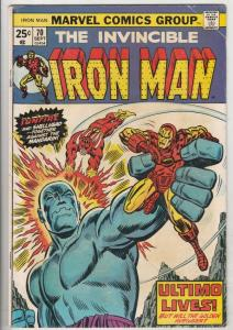 Iron Man #70 (Jul-74) VG/FN Mid-Grade Iron Man