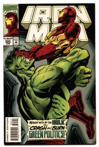 IRON MAN #305 1994 comic book HULK BUSTER ARMOR--AVENGERS 2