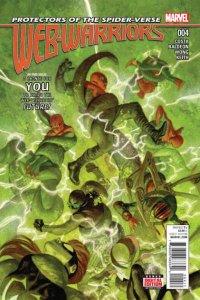 Web Warriors #4, NM (Stock photo)