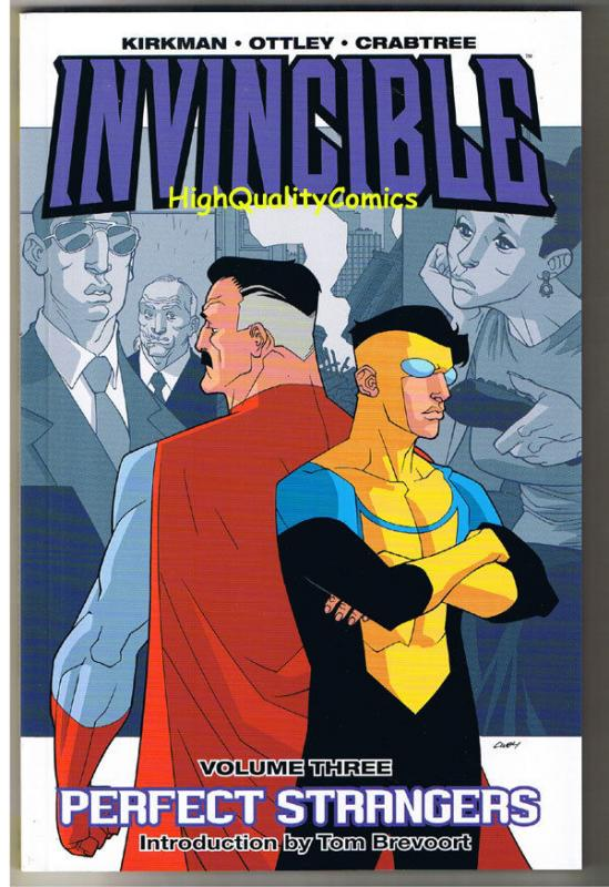 INVINCIBLE #3, TPB, GN, 3rd, NM, Perfect Strangers, 2008, Robert Kirkman