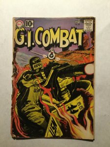 G.I. Combat 89 Good Gd 2.0 Cover Detached Dc Comics