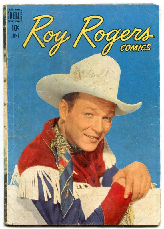 Roy Rogers Comics #6 1948- Dell western F/G